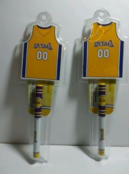 Los Angeles Lakers Notepad & Penset New Factory Sealed