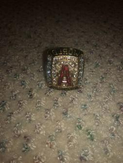 2002 Los Angeles Angels of Anaheim Championship Ring #GLAUS