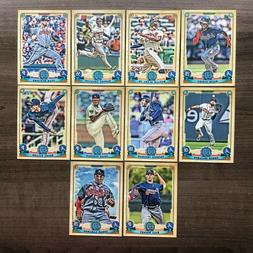 2019 Topps Gypsy Queen Base Team Sets ~ Pick your Team