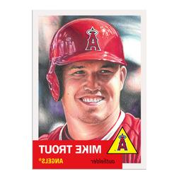 2019 topps living set 200 mike trout