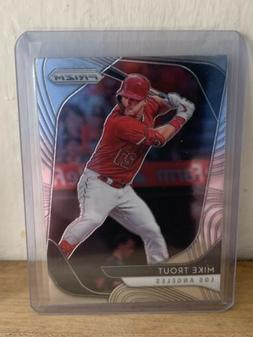2020 Panini Prizm MIKE TROUT Base Card #196 - LOS ANGELES AN