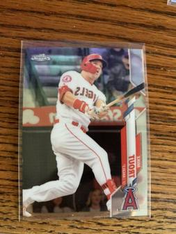 2020 Topps Chrome Los Angeles Angels Mike Trout card