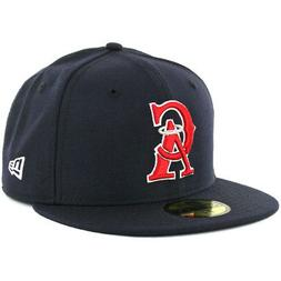 """New Era 5950 Los Angeles Angels CO """"CA"""" Fitted Hat  Men's Ca"""
