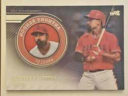 ANTHONY RENDON 2020 TOPPS COMMEMORATIVE MEDALLION COIN LOS A