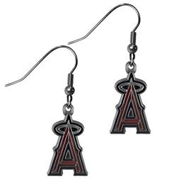 Siskiyou BDE010 MLB Dangle Earrings - LA Angels of Anaheim