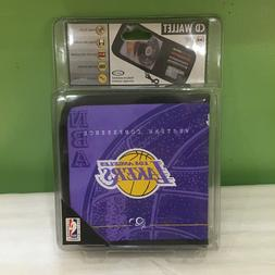 BRAND NEW SEALED LOS ANGELES LAKERS CD WALLET CASE HOLDS 16