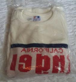 California Los Angeles Angels Sweater Vintage Cliff Engle ML