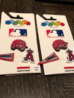 Crocs MLB Jibbitz Los Angeles Angels 3pk