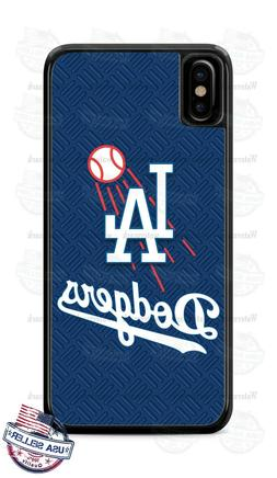 Custom Los Angeles Dodgers Baseball Phone Case Cover For iPh