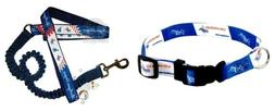 Hunter Los Angeles Dodgers Pet Nylon Collar and Leash; Large