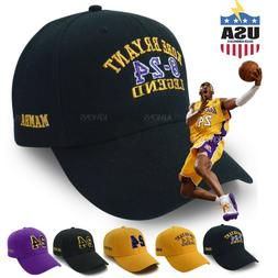 Kobe Bryant baseball Cap Hat mamba 24 Ever Dad Los Angeles S