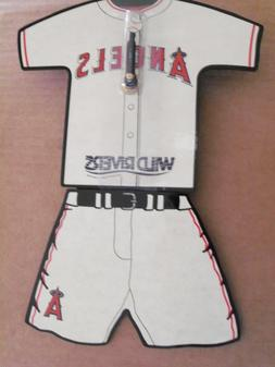 L.A. Angels Clock, White Jersey, for Wall or Table SGA New!