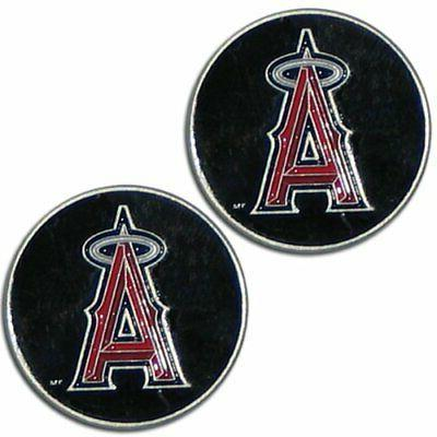 Los Angeles Anaheim Angels Set of Two Hand Painted Magnets M