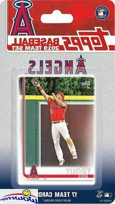 los angeles angels 2019 topps limited edition