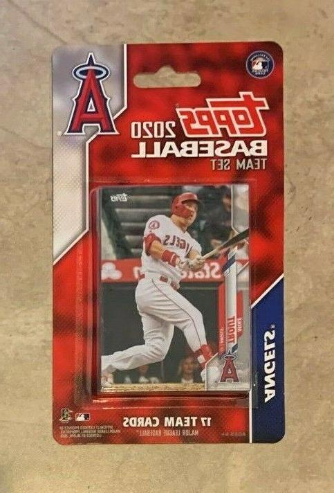 los angeles angels 2020 topps limited edition