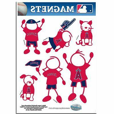 los angeles angels family magnet set new