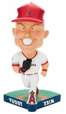 Los Angeles Angels Mike Trout Caricature Bobblehead Brand Ne