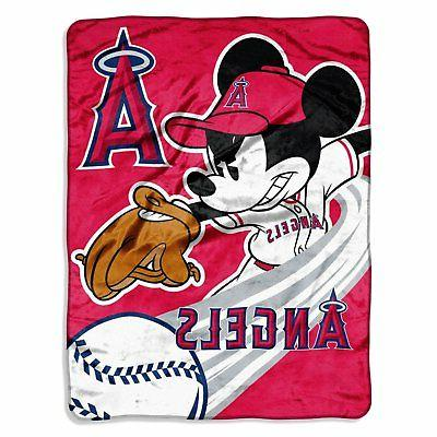 los angeles angels mlb 46x60 mickey mouse
