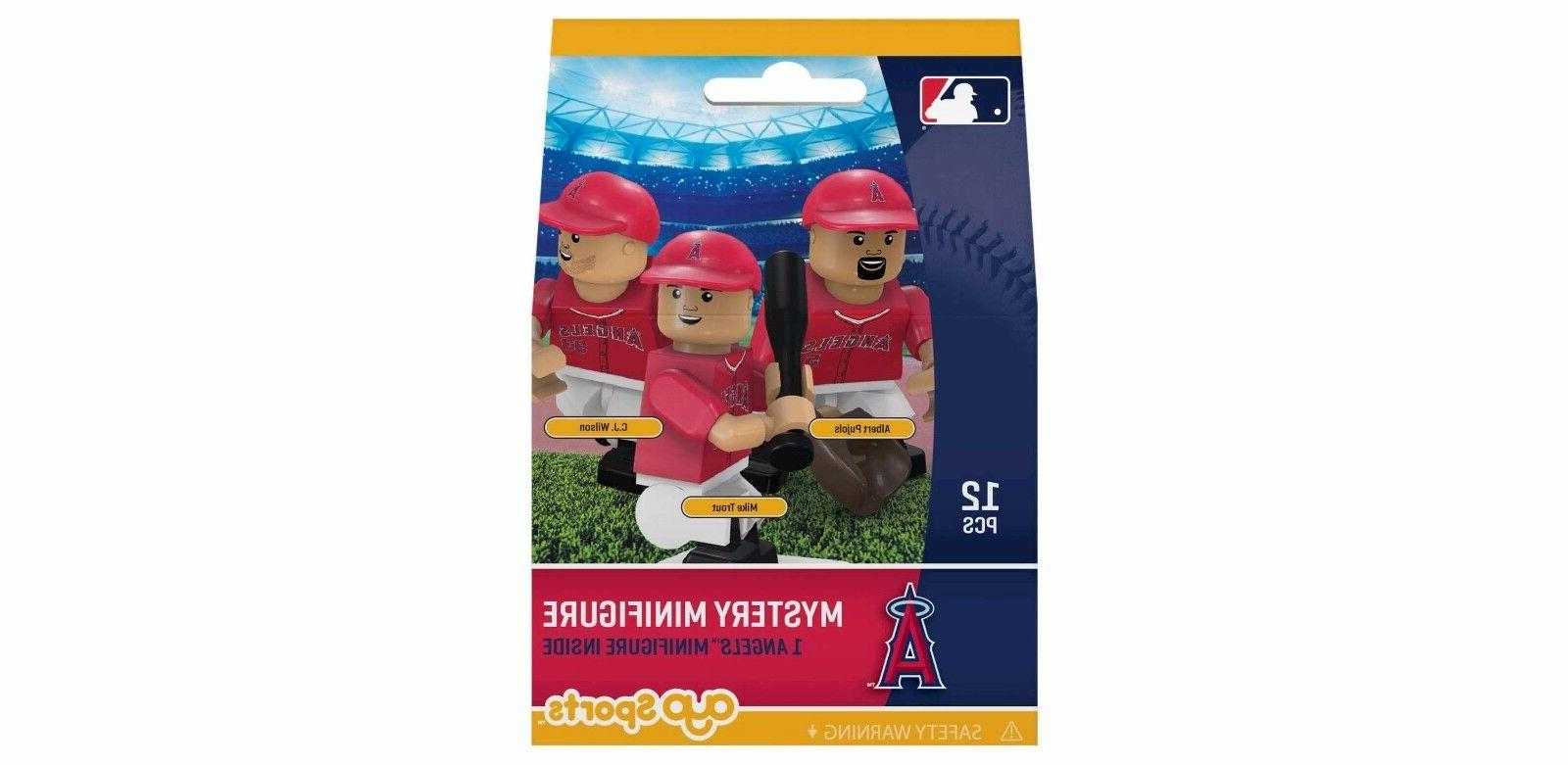 los angeles angels mystery pack oyo minifigure