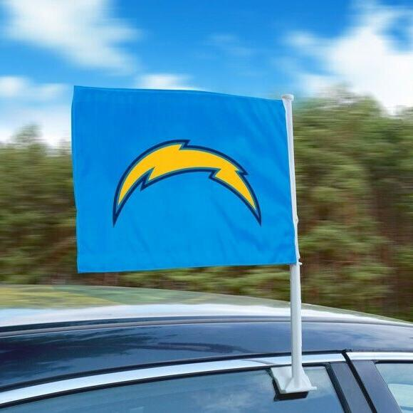 los angeles chargers heavy duty car flags