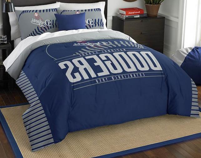 los angeles dodgers 3 piece king bedding