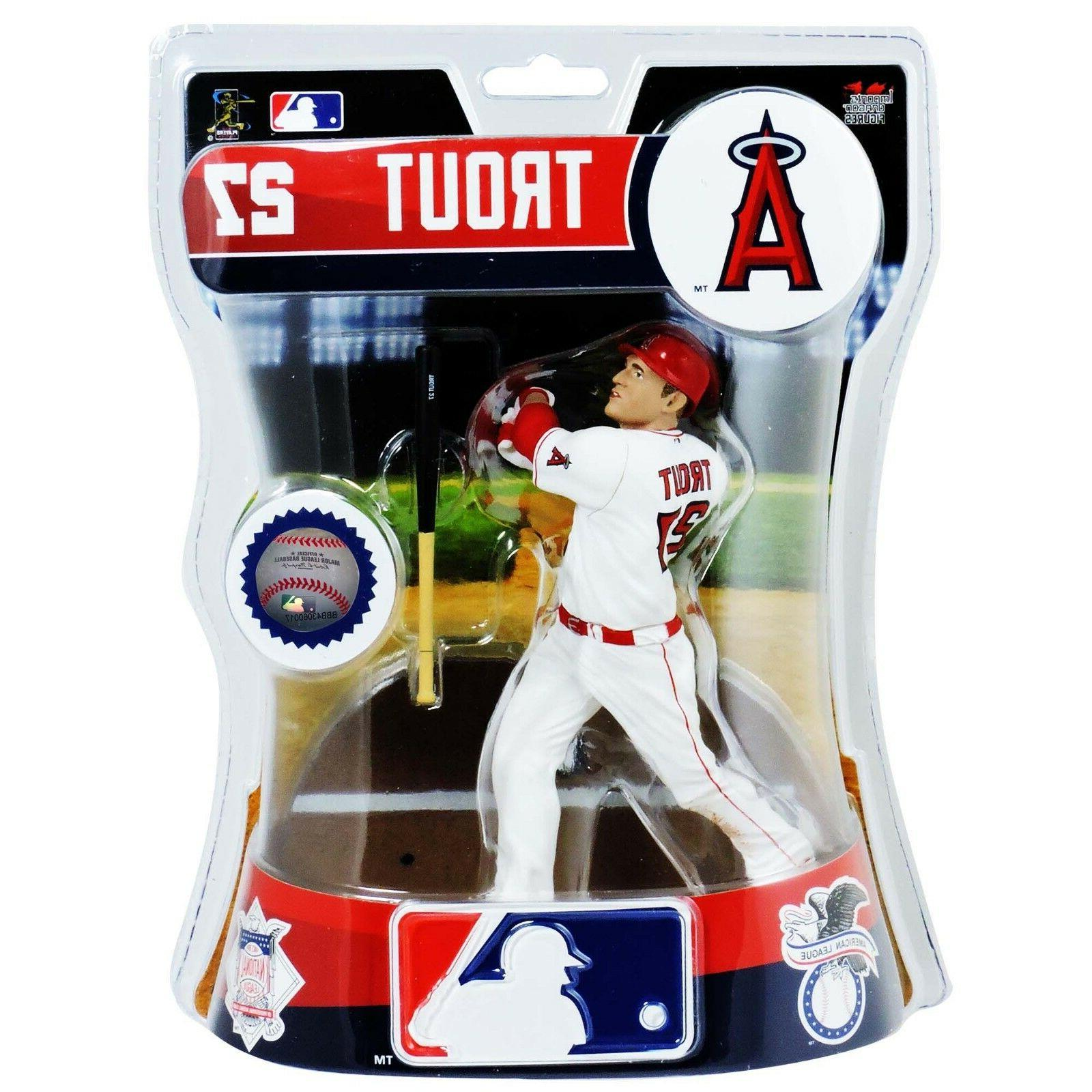 mike trout 27 los angeles angels action