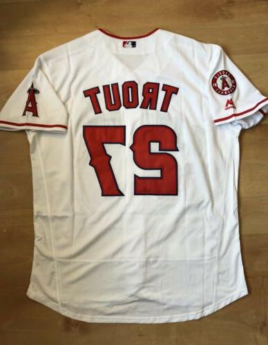 mike trout jersey 27 los angeles angels