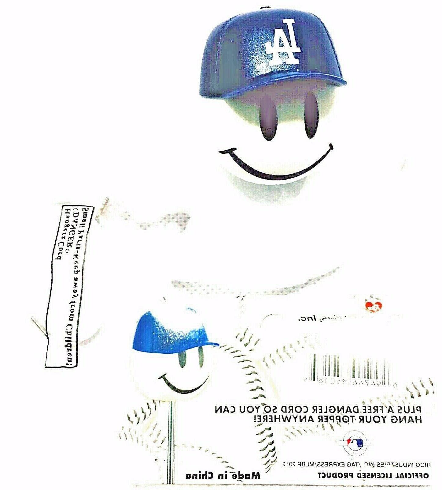 MLB Los Angeles Dodgers-Antenna Topper- Dangler-Free Shipping