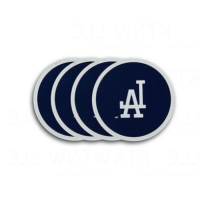 MLB Los Angeles Dodgers Coasters