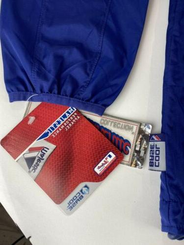 New Majestic 1/4 Pullover Windbreaker Jacket XL NWT