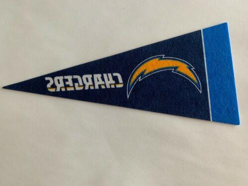 nfl los angeles chargers mini pennant flag