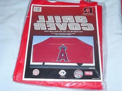 vinyl grill cover los angeles angels 68x21x35