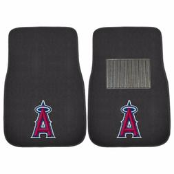 Los Angeles Angels 2 Piece Embroidered Car Auto Floor Mats