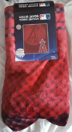 los angeles angels 50 by 60 plush