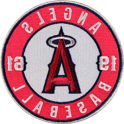 Los Angeles Angels of Anaheim Round Sleeve '1961' Patch