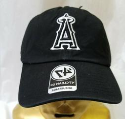 Los Angeles Angels Black Baseball Cap Hat LA California