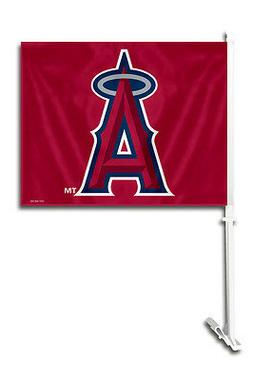 Los Angeles Angels Car Flag with Pole  MLB Auto Truck Tailga