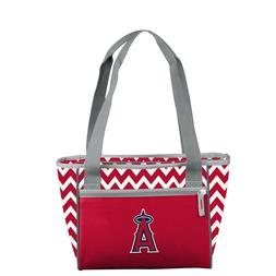 Los Angeles Angels Chevron Lunch Picnic 16 Can Cooler Tote