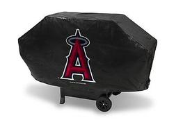 Los Angeles Angels Deluxe Grill Cover  MLB Vinyl Grilling Ba