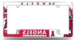 Los Angeles Angels EZ View All Over Chrome Frame Metal Licen