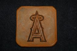 Los Angeles Angels Hand Embossed Coasters
