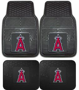 Los Angeles Angels Heavy Duty Floor Mats 2 & 4 pc Sets for C