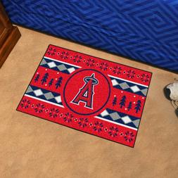 "Los Angeles Angels Holiday Sweater Design 19"" X 30"" Starter"