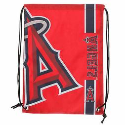 Los Angeles Angels LA MLB Big Logo Side Stripe Drawstring Ba
