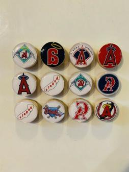 Los Angeles Angels Magnets - Set of 12 - FREE SHIPPING
