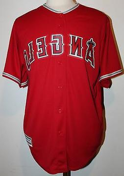 Los Angeles Angels Mike Trout #27 New Cool Base Men's Road B