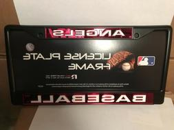 Los Angeles Angels Official MLB 12 inch x 6 inch Metal Licen