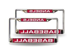 Los Angeles Angels MLB  Chrome Metal Laser Cut License Plate