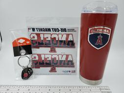 Los Angeles Angels Of Anaheim Fan Gift Pack Stainless Tumble