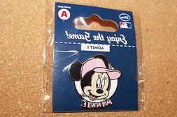 Los Angeles Angels of Anaheim Minnie Mouse portrait on ball